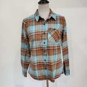 Patagonia flannel shirt size 2